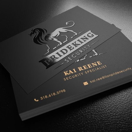 Raised Spot UV Business Card Printing Premium Business